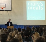 Mary's Meals Founder visits BWH